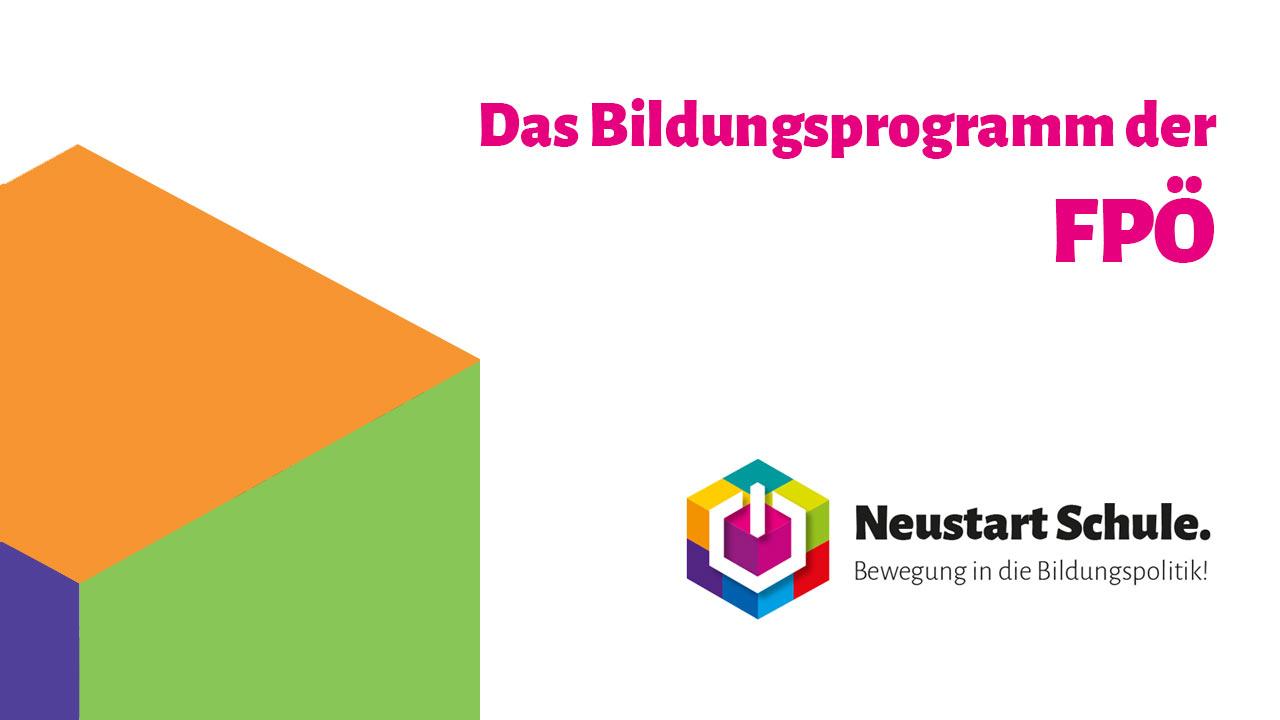 YouTube-Video: Das Bildungsprogramm der FPÖ