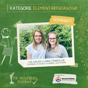 Lea Walser & Anna Steinmüller (Kindergarten an der Ach, Vorarlberg)