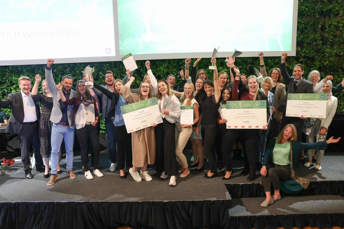 Die Preisträgerinnen und Preisträger des IV-Teacher´s Award 2021